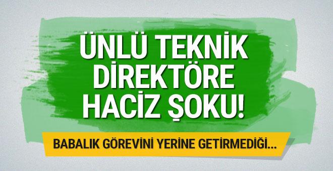 Hamza Hamzaoğlu'na haciz şoku