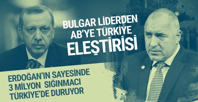 Bulgar lider Borisov'dan AB'ye Türkiye uyarısı