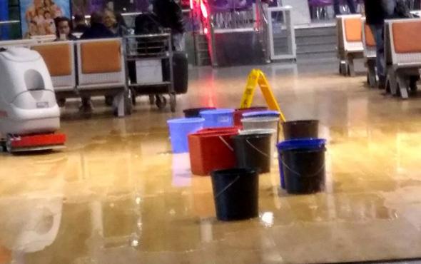 Hatay Havalimanı'nda 16 kova yan yana konulursa
