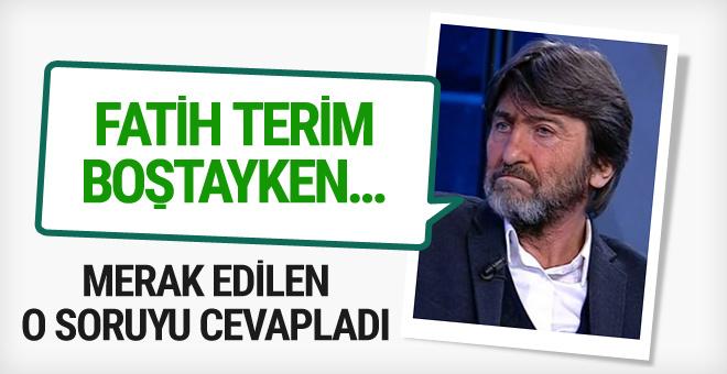 Rıdvan Dilmen'den Fatih terim açıklaması