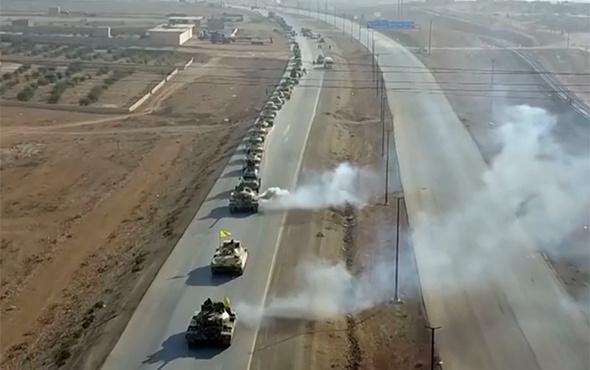 Terör örgütü YPG'den gövde gösterisi!