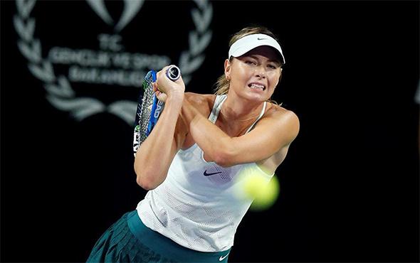 Sharapova'ya Türkiye'deki maçta evlenme teklifi