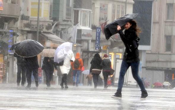 Güneşe aldanmayın! Meteoroloji İstanbul için saat verdi