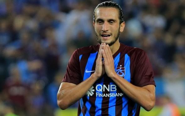 Trabzonspor'da Yusuf Yazıcı korkuttu