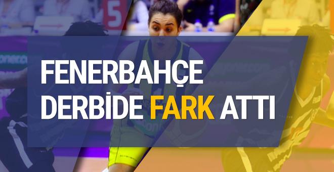 Derbi maçı Fenerbahçe kazandı