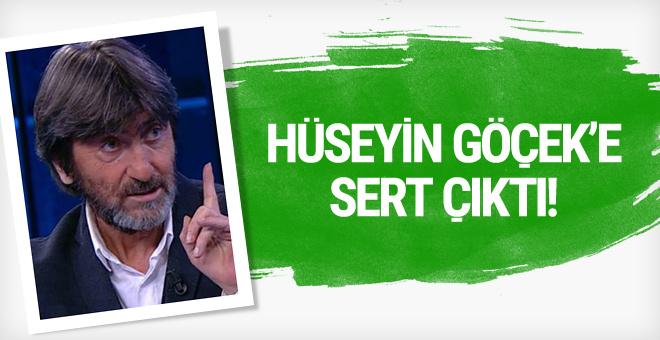 Rıdvan Dilmen'den Hüseyin Göçek'e sert tepki!