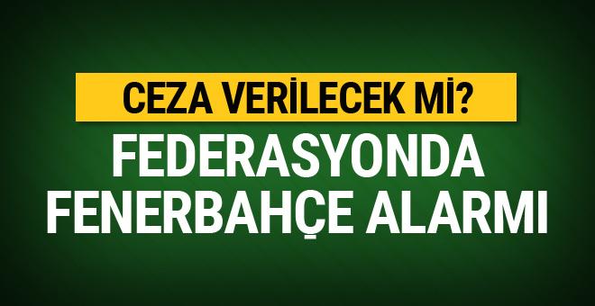 Basketbol Federasyonu'nda Fenerbahçe alarmı