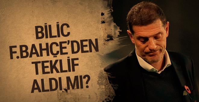 Slaven Bilic'ten Fenerbahçe açıklaması