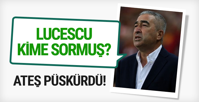 Samet Aybaba'dan Mircea Lucescu'ya tepki
