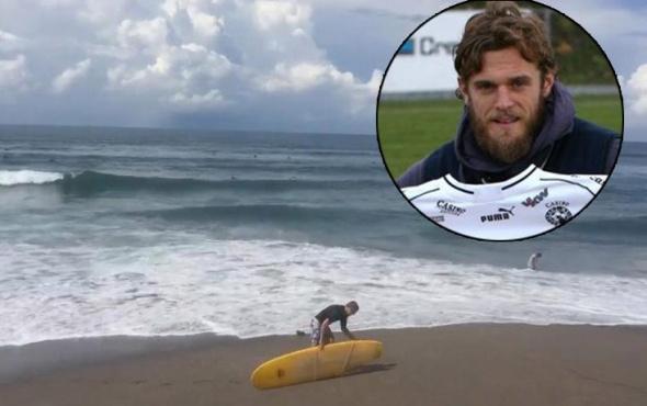 Futbolcunun korkunç ölümü! Sörf yaparken yıldırım düştü ve...