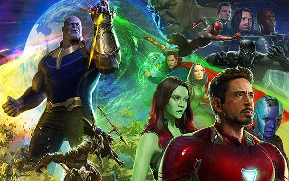 Avengers: Infinity War'dan Türkçe dublajlı muhteşem fragman