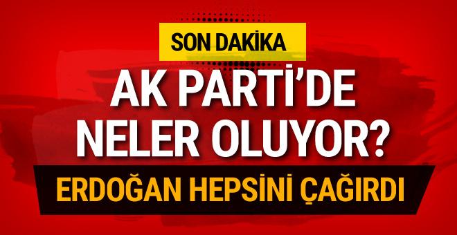 Cumhurbaşkanı Erdoğan'dan İstanbul'da sürpriz zirve