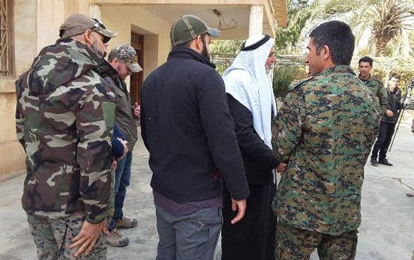 Sınırda skandal görüntüler! Irak Ordusu PKK ile anlaştı...