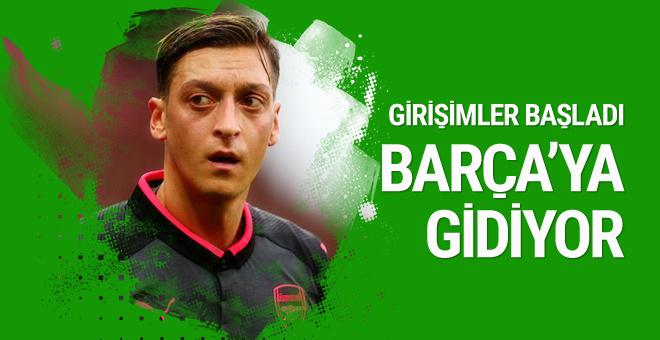 Bomba iddia! Mesut Özil Barcelona'ya gidiyor