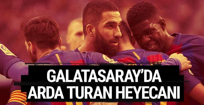 Galatasaray'da Arda Turan heyecanı