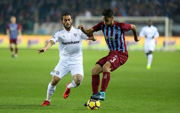 Trabzonspor-Bursaspor maçı golleri ve geniş özeti