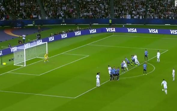 Ronaldo frikik golüyle Real'e yine kupa kazandırdı