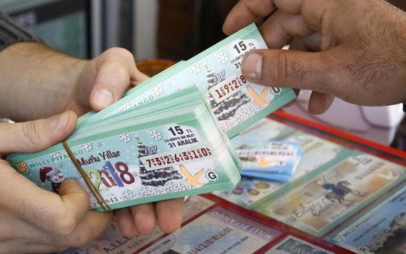 Milli piyango yılbaşı bileti en çok amorti bu numaraya çıkıyor