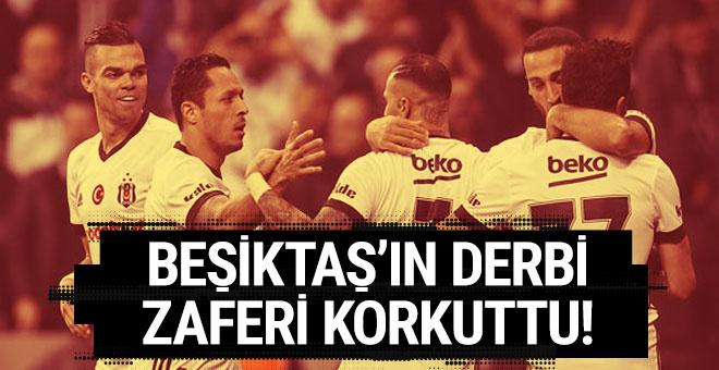 Beşiktaş'ın derbi zaferi Leipzig'i korkuttu!