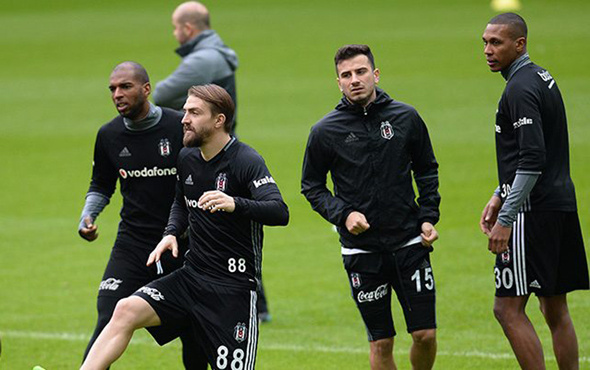 Beşiktaş Leipzig'e hazırlanıyor!