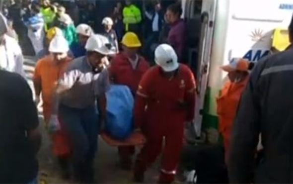 Madende patlama ve göçük: 6 madenci hayatını kaybetti!