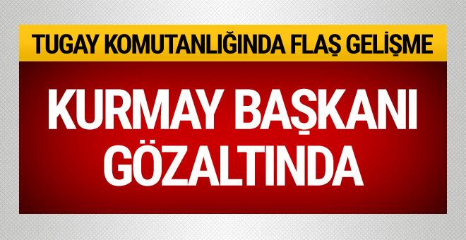 Kurmay Albay FETÖ'den gözaltına alındı!