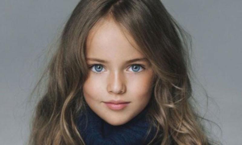 Dünyanın en güzel çocuğu Kristina Pimenova büyüyor