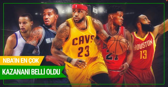 NBA'in en çok kazananı belli oldu
