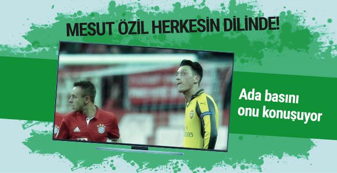 Ada basını Mesut Özil'in bu hallerini konuşuyor!