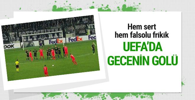 UEFA'da gecenin golü Federico Bernardeschi'den