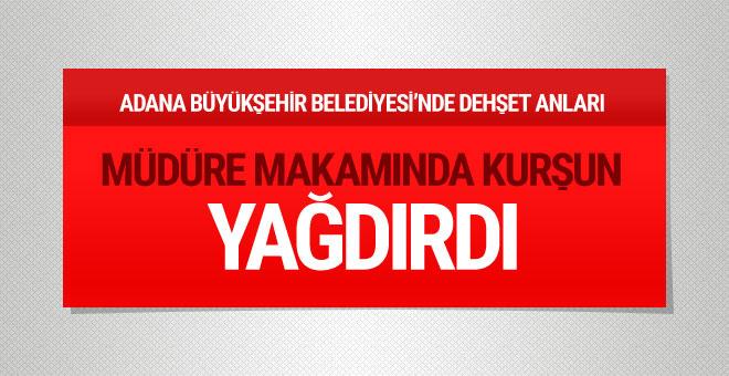 Adana Büyükşehir Belediyesi'nde silah sesleri