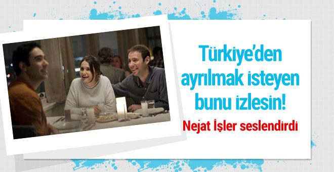 Nejat İşler seslendirdi izleyen Türkiye'den ayrılmaz
