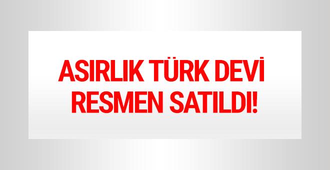 Asırlık Türk devi resmen el değiştirdi!