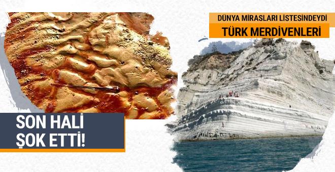 Türk Merdivenleri'nin son hali şok etti! Dünya Miraslar Listesi'ndeydi