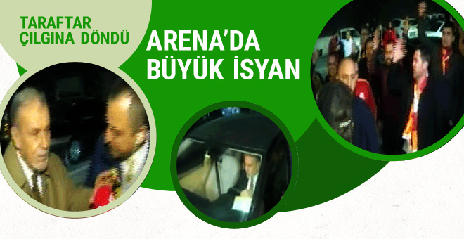 Türk Telekom Arena'da istifa sesleri