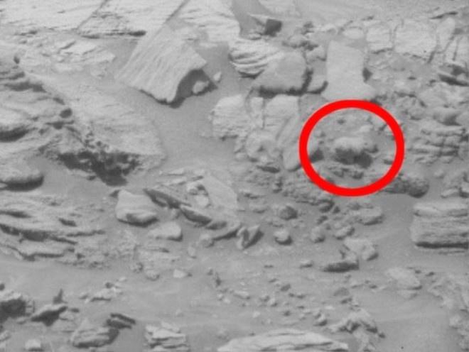 Mars'tan gelen garip görüntüler bunlar ne böyle?