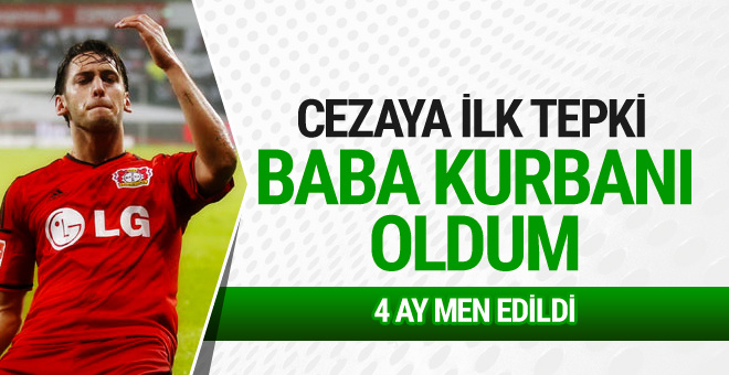 Hakan Çalhanoğlu'ndan men cezasına ilk tepki
