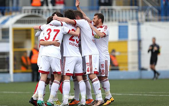 Sivasspor farklı turladı çeyrek finale yükseldi