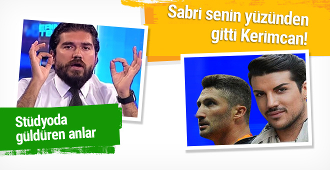 Rasim Ozan'ın Sabri'nin gidişini Kerimcan'a bağladı