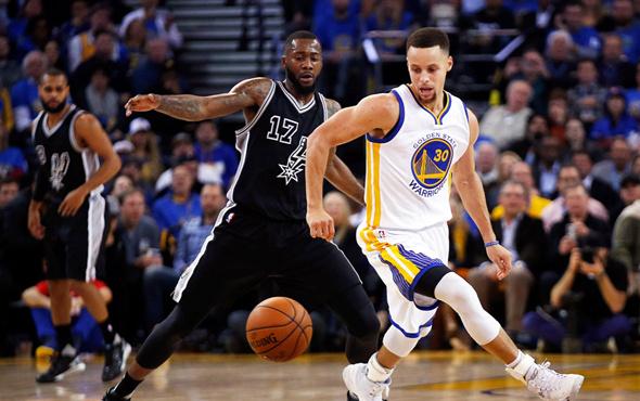 San Antonio Spurs Warriors'ı yakaladı