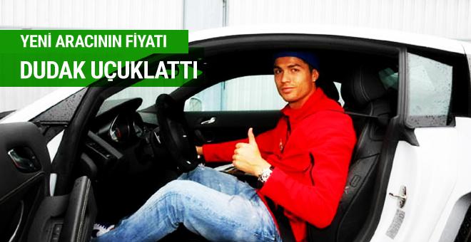 Ronaldo'nun yeni aracının fiyatı dudak uçuklattı