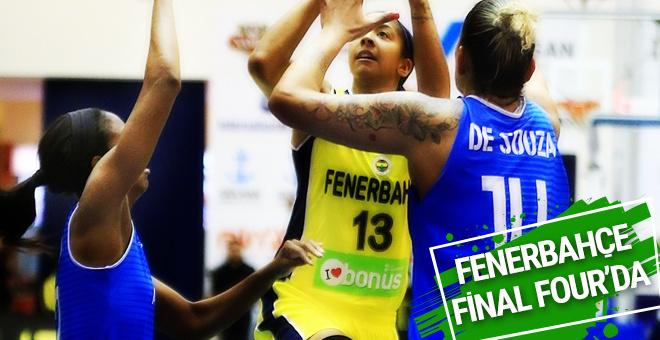 Fenerbahçe adını Final Four'a yazdırdı