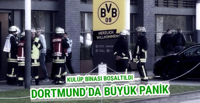 Borussia Dortmund'da büyük panik! Kulüp binası boşaltıldı
