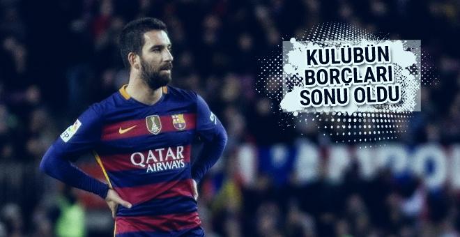 Barcelona'nın borçları Arda Turan'ın sonu oldu