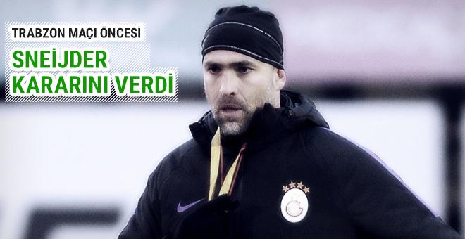 Igor Tudor Sneijder için kararını verdi