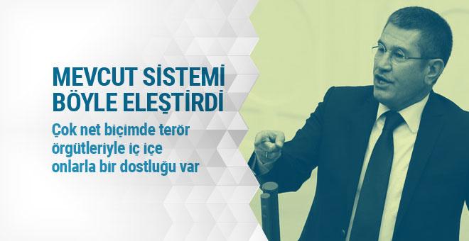 Canikli: Bu sistem güçsüz yönetimler için