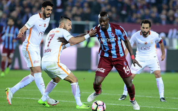 Trabzonspor Galatasaray 18.03.2017 maç sonucu
