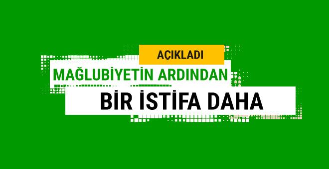 Tolunay Kafkas mağlubiyetin ardından istifa etti