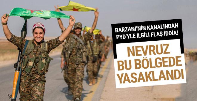 Terör örgütü PKK orada Nevruz'u yasakladı!