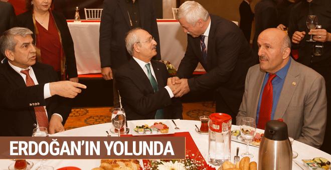 Kılıçdaroğlu Erdoğan'ın yolunda muhtarlara konuştu!